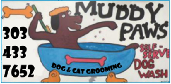 Muddy Paws Bath House Logo
